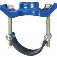Tapping saddle, ductile iron - null