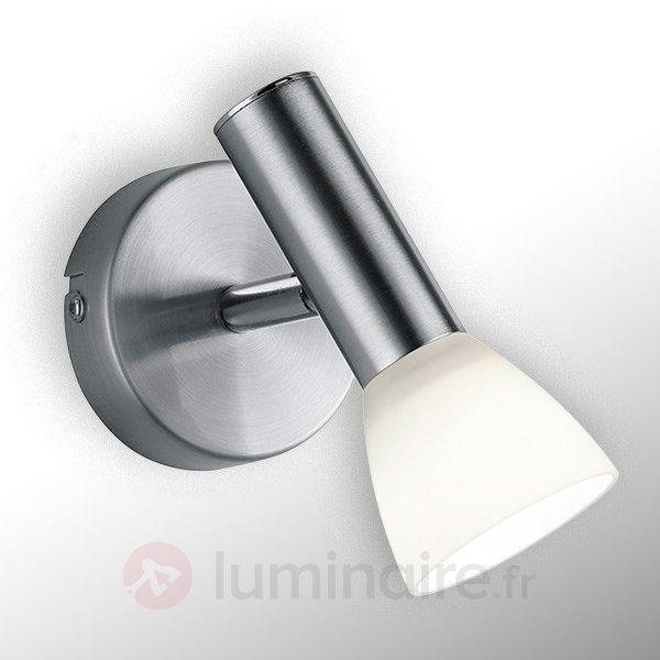 Applique LED Plucino, très élégante - Appliques chromées/nickel/inox