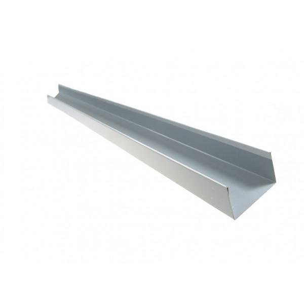 Weiße AL Streifen - Gerüst U 40/120/40 mm, L = 2 m - Kälte Kühlraum