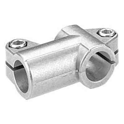 Bride en T en aluminium - Système d'assemblage de tube