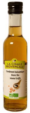 Condiment Balsamique BIO saveur Truffe  - 5,4 % d'acidité La Cigale Provençale