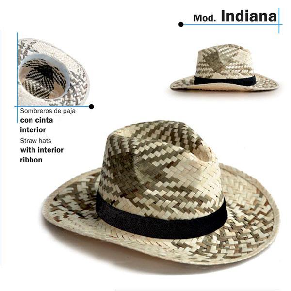 Chapéu de palha - Modelo Indiana