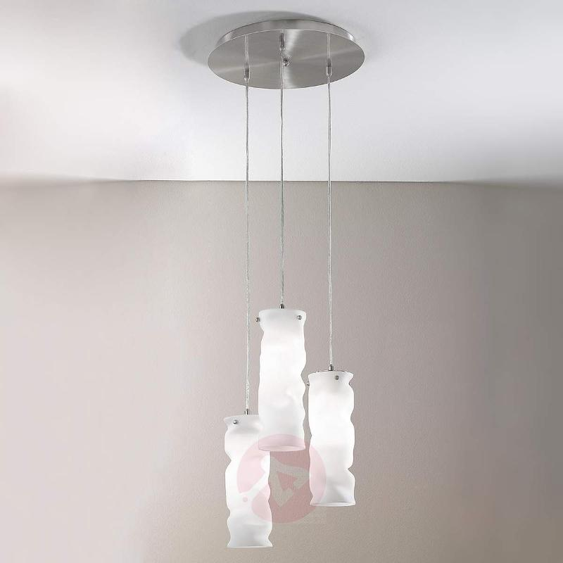 Melt - Hanging Light with Round Canopy - Pendant Lighting