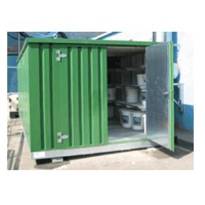 Entrepôts de stockage pour liquides polluants