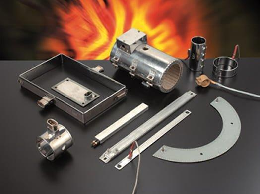 Resistenze a fascia in acciaio inox per ugelli e teste di estrusione - null