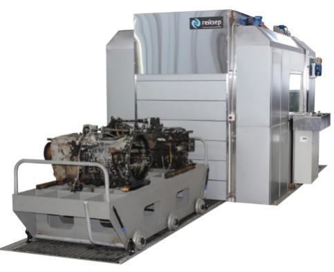 Gantry washing machine - Automatic washing unit