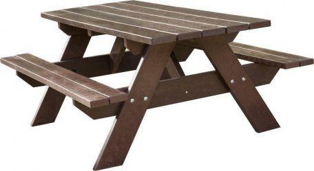 Table Pique Nique Plastique Recyclé Rectangle - Tables De Pique-Nique