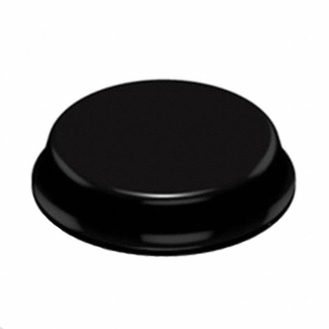 "BUMPER CYLINDRICAL 0.75"" DIA BLK - 3M SJ-5744-BLACK"