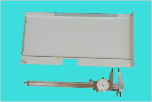 Left side panel (Semi-finished products) - Metal Products