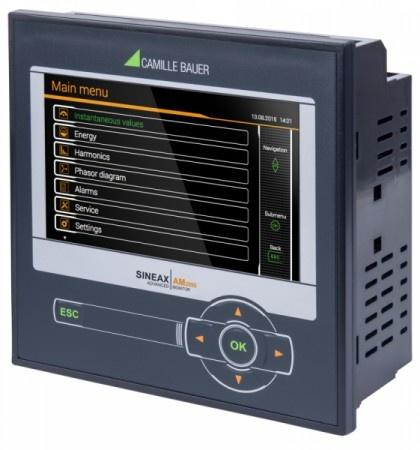 SINEAX AM2000 - A comprehensive instrument for measurement and monitoring of power systems.