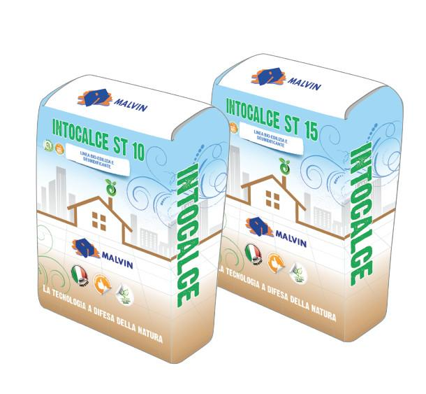 INTOCALCE ST10/15 Eco-compatible high strength Bio-mortar - Compliant with UNI EN 998-1 - UNI EN 998-2 UNI EN 1504-3