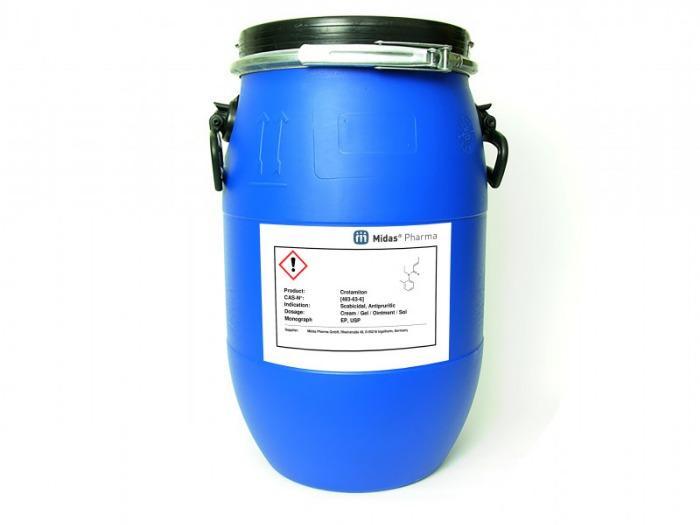 Crotamitón - Crotamitón; (E)-N-Ethyl-N-(methylphenyl)but-2-enamide; EP; [483-63-6]