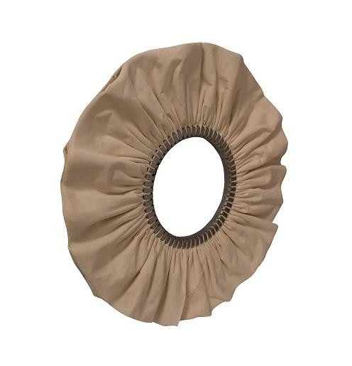 NATURAL COTTON VENTILATED BUFF - buffing wheels for aluminium extrusion