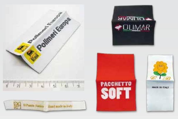 Etichetta Tessute da cucire su abbigliamento - Etichetta Tessute personalizzate da cucire su abbigliamento per il tuo brand