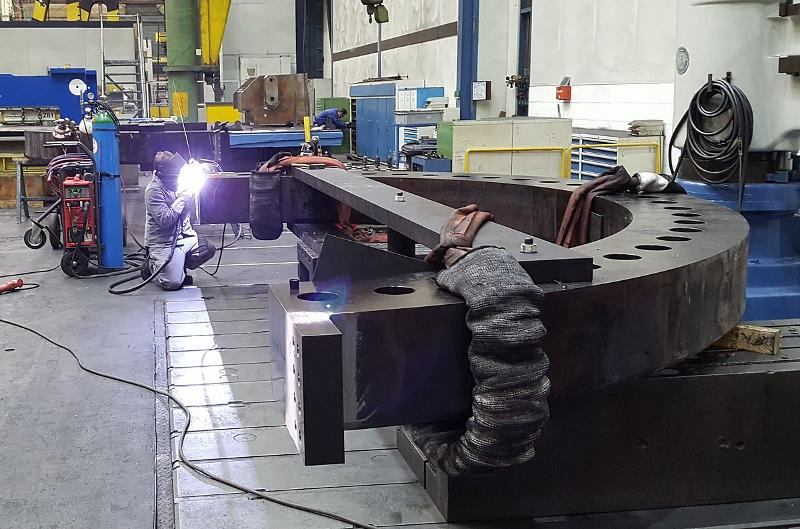 Welding Construction As Required - null