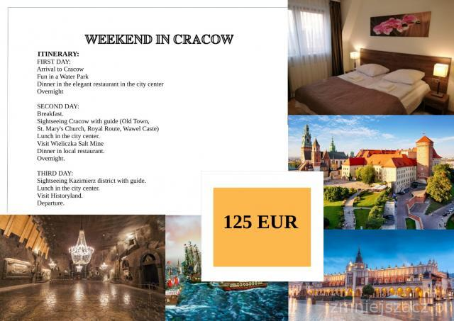 WONDERFUL WEEKEND IN CRACOW! - FOR YOUR GROUPS