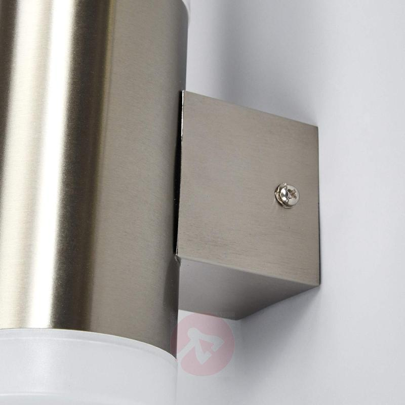 Gabriel - LED outdoor wall light, stainless steel - outdoor-led-lights