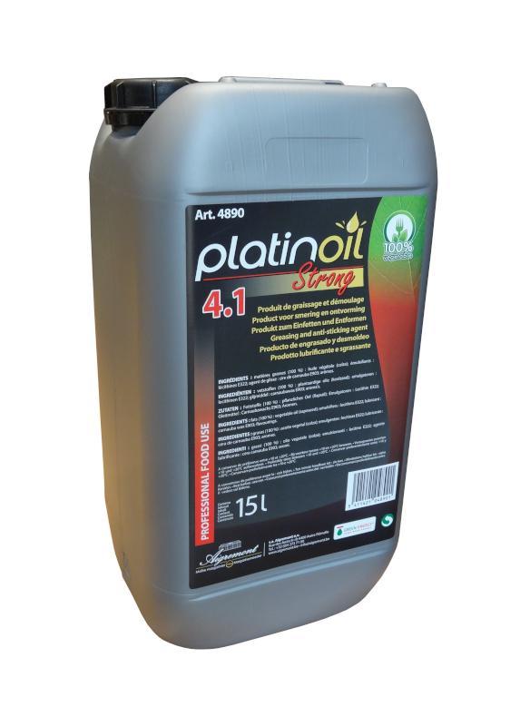 Platinoil - Lubrification à usage alimentaire - Formats disponibles : 15L / 208L / 1000L