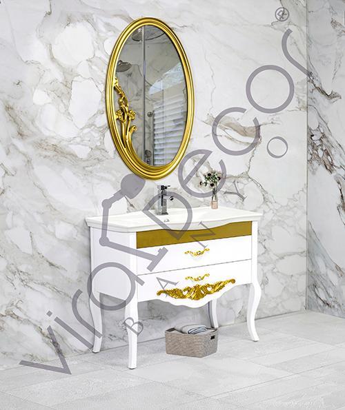 Zumra 100cm - wooden bathroom furniture