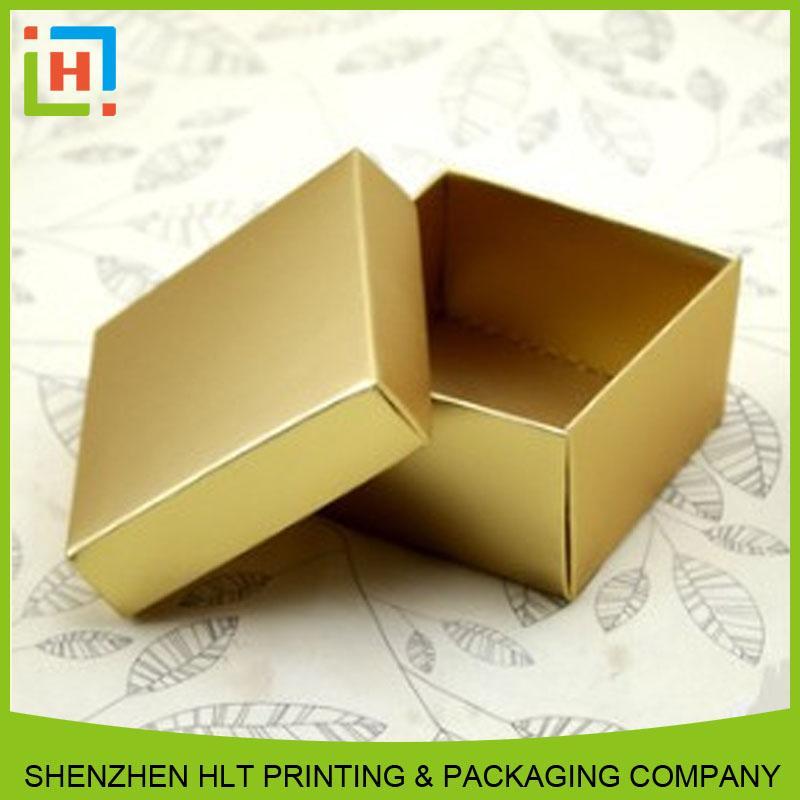 Golden art paper box - Artpaper box