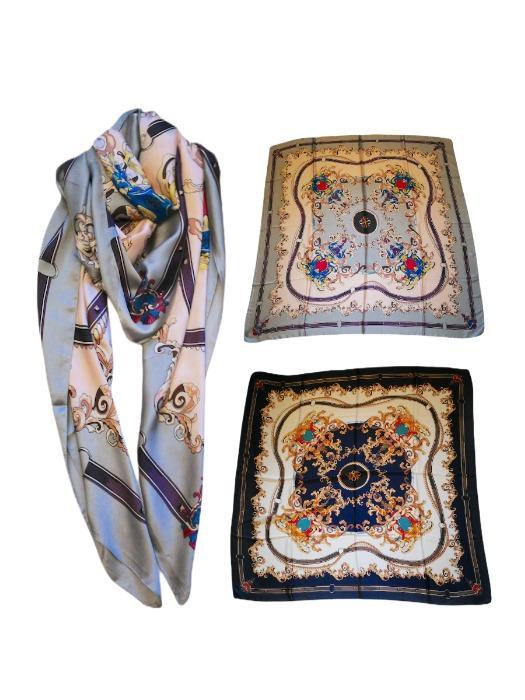 Lot de foulards en soie - Accessoire mode