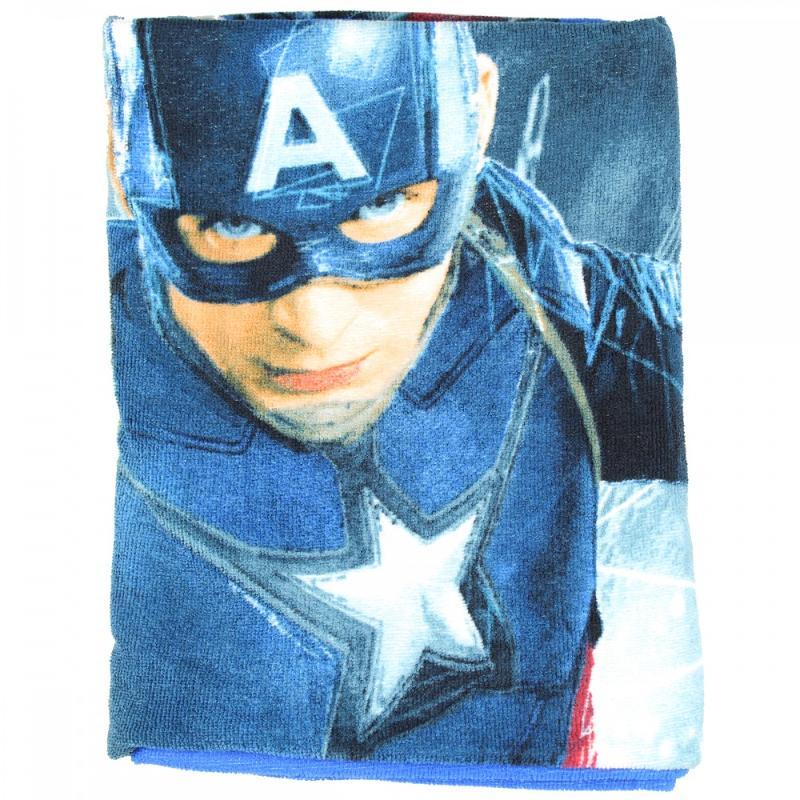 6x Draps de plage Avengers 70x140 - Serviette
