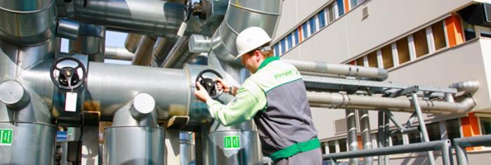 Energie-, Ver- und Entsorgungsanlagen - Effizienter Betrieb von Energie-, Ver- und Entsorgungsanlagen