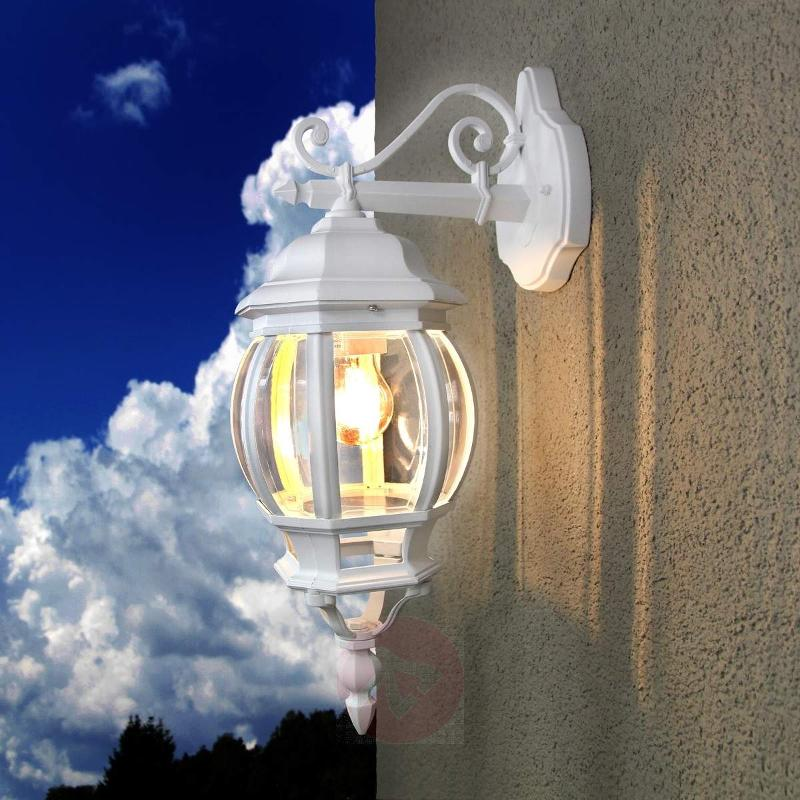 Theodor Outside Wall Light White - Outdoor Wall Lights