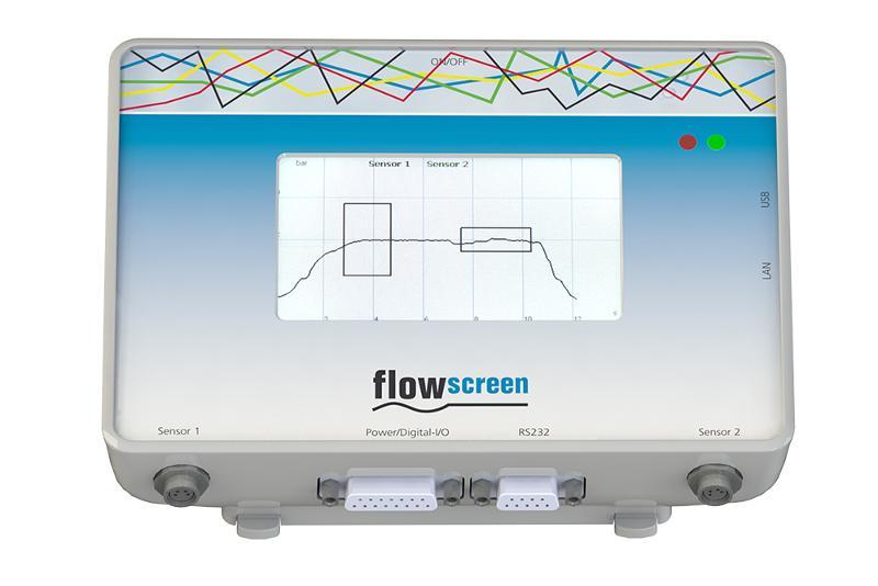 Drucksensor flowplus16  - für Flüssigkeiten und Fluide / Durchflusssensor / Prozessüberwachung /flowscreen