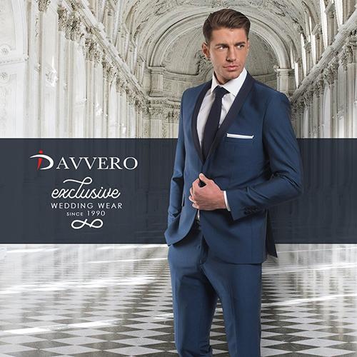 Γαμπριάτικα κοστούμια DAVVERO -