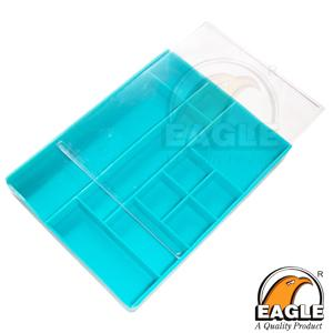 Small Parts Tray - Green 11 Compartments