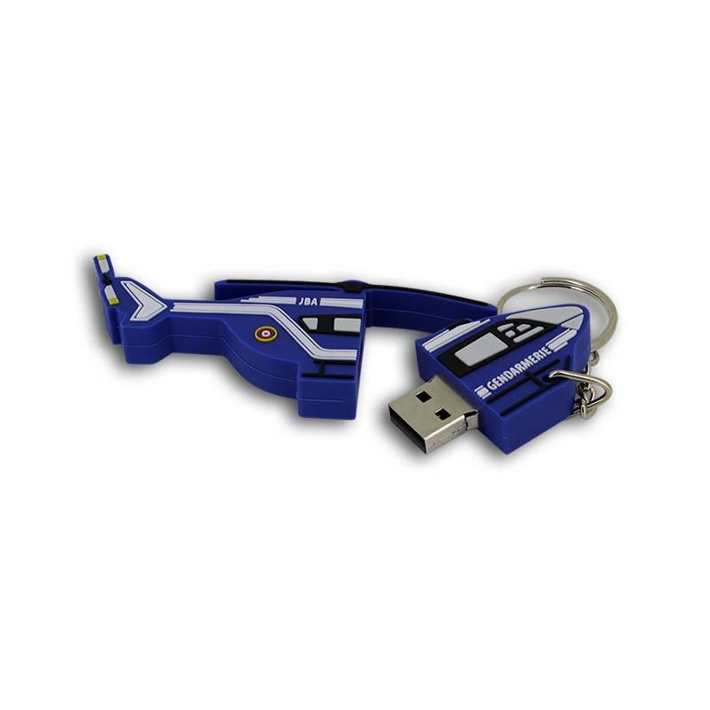 Clé USB Hélicoptère Gendarmerie - Clé USB Originales PVC