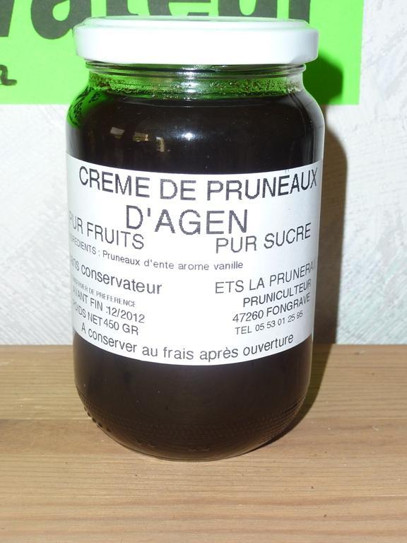 Crème pruneaux - null