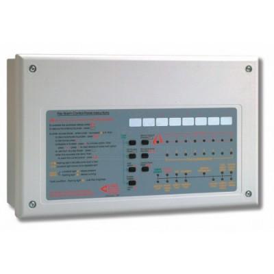 Centrale de détection incendie 8 Zones, EN54, Marque C-TEC - HNC-CFP708-4 C-TEC
