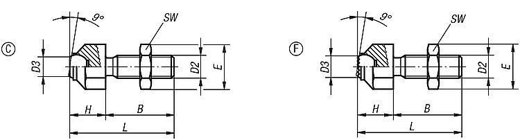 Self-aligning Pads Adjustable - Self-aligning pads