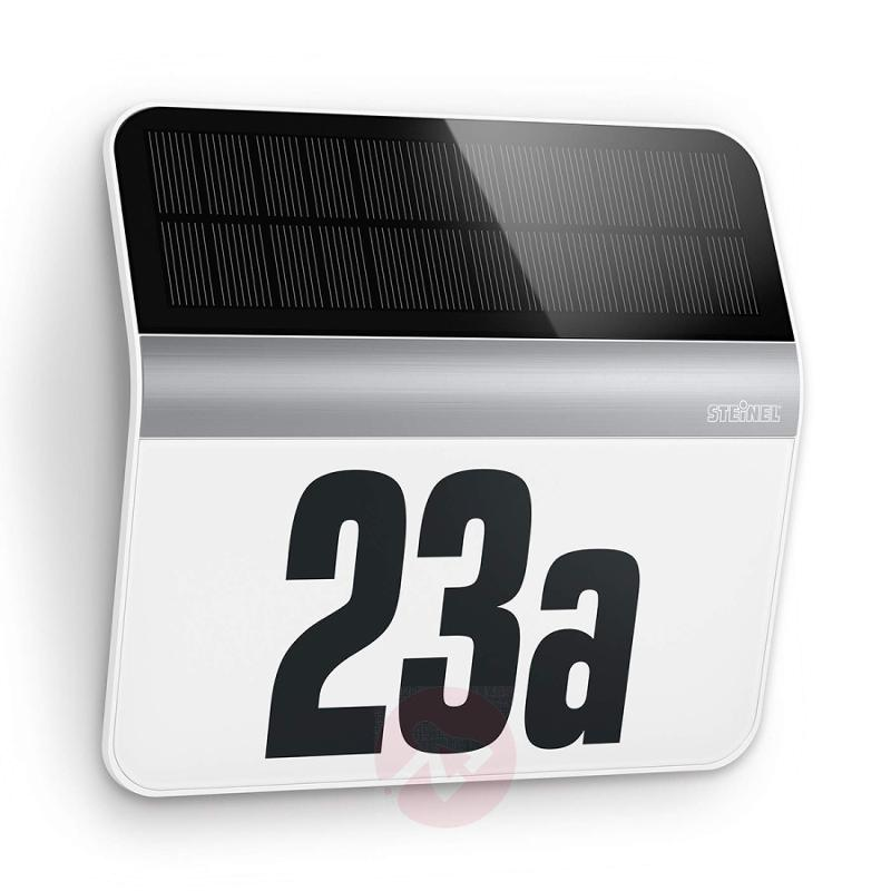 XSolar LH-N LED house number light stainless steel