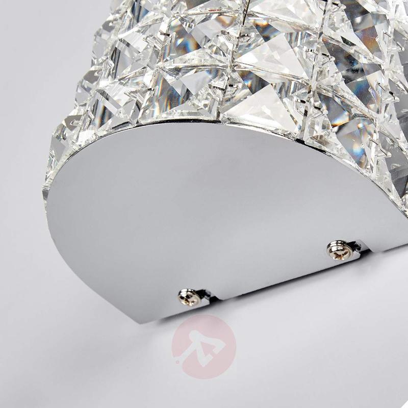Sparkling Kylian crystal wall lamp - Wall Lights