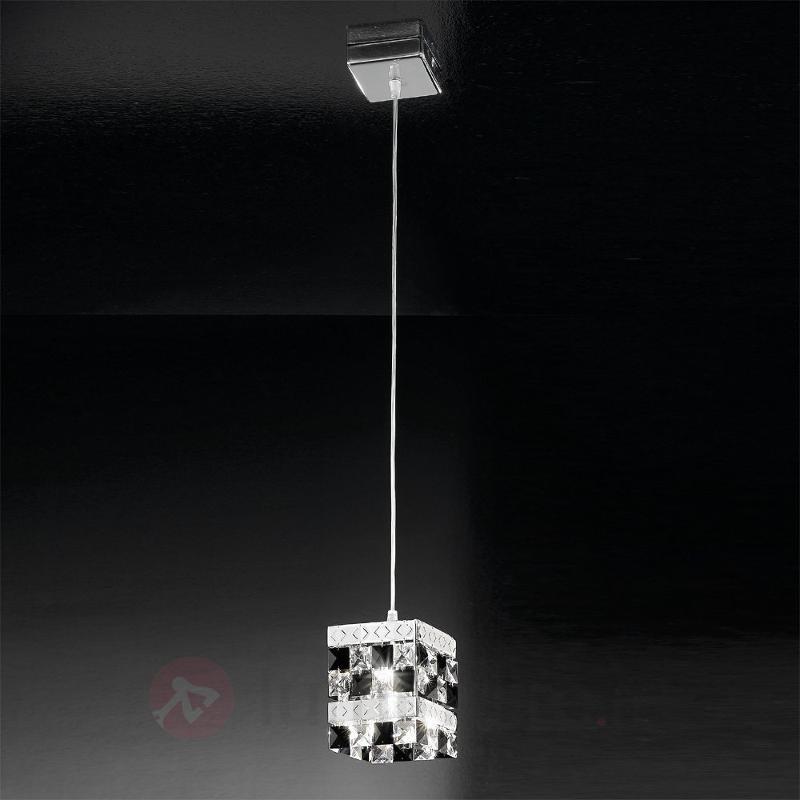 Elégante suspension Prince à 1 lampe - Suspensions en cristal