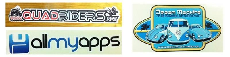 Stickers pas cher unitaires et en planches - Stickers personnalisé et étiquettes