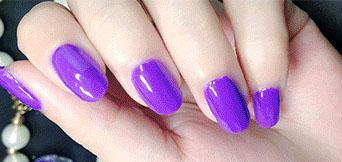 Cosmetics - 8# purple nail