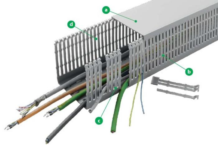 VK- Verdrahtungs und Kabelkanäle - null