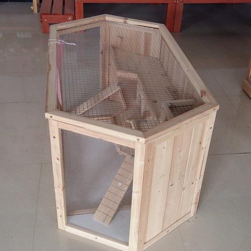 Cage de hamster - Rhombus en bois
