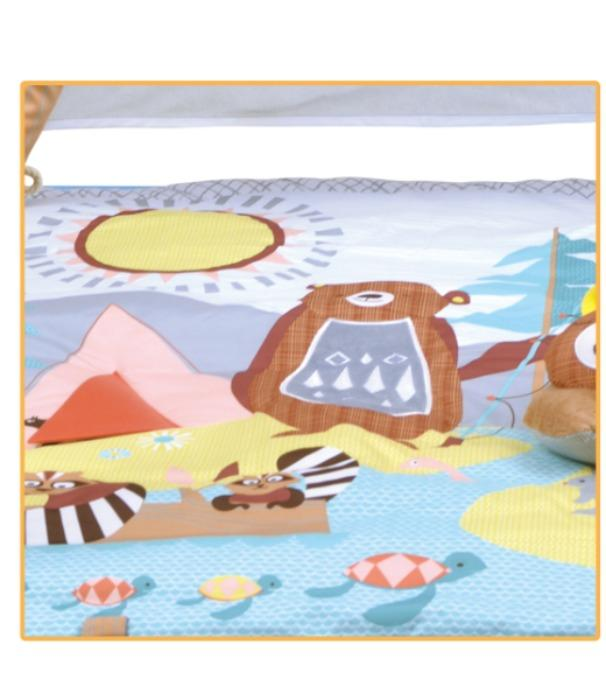 Activity music comfortable baby sleeping tent - Activity Kids Comfortable Sleeping Tent Children Playhouse Foldable Indoor Gym