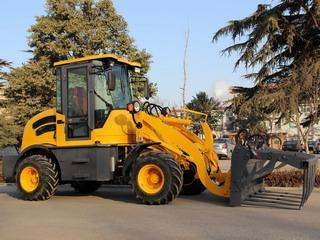 0.8T Capacity Articulated Loader - Articulated Compact Wheel Loader with 0.8T Capacity