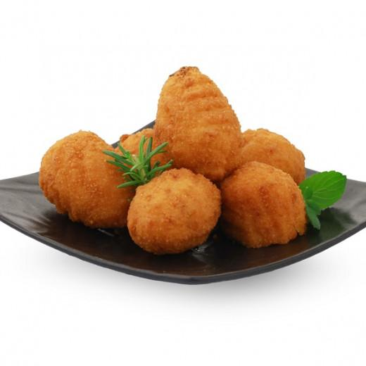 Producteur Artisan-le Chorizo En Beignet Surgelé (croquetas) - Tapas : Chorizo en beignet surgelé (croquetas) en sachet de 500G - IFS