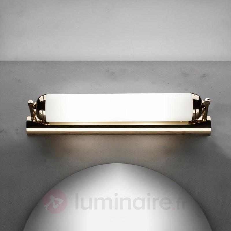 Applique élégante à 2 lampes Elida - Appliques en laiton/dorées