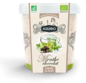 Crème glacée BIO menthe chocolat - Glace biologique