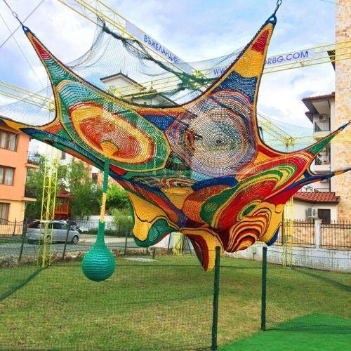 Ropeland 14x7meters - Crochet playground for kids