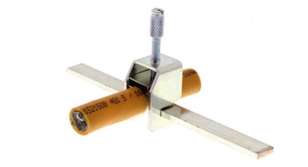 Bridas de conexión del apantallamiento SAB/ SSAB - SAB/ SSAB, Conexión de mallas para montaje de barras colectoras CONTA-CLIP