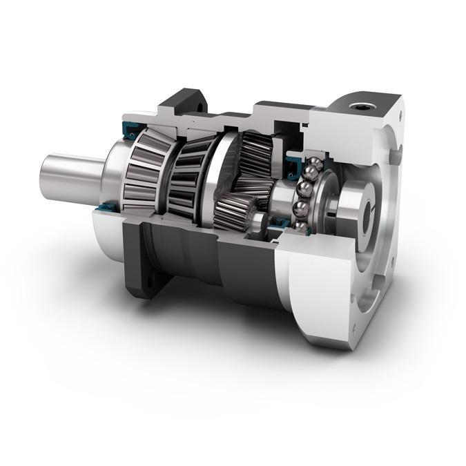 Reductor planetario PSN - Reductor de precisión con eje de salida - Dentado inclinado - IP65
